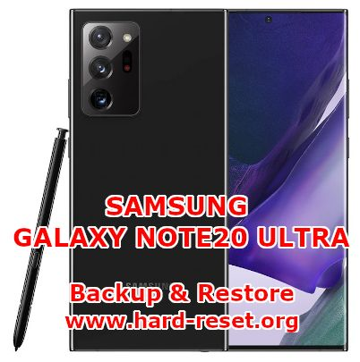 how to backup & restore data on samsung galaxy note 20 ultra