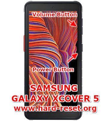 hard reset samsung galaxy xcover 5