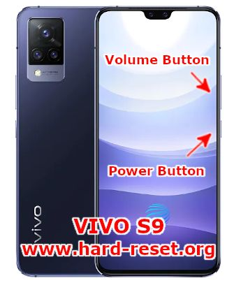 hard reset vivo s9 5g