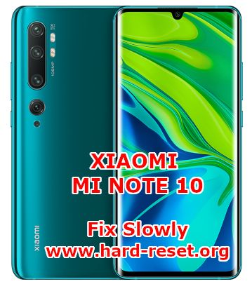 solutions to fix lagging issues on xiaomi mi note10