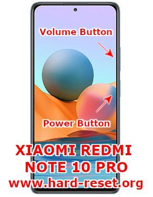 hard reset xiaomi redmi note 10 pro