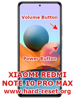 hard reset xiaomi redmi note 10pro max
