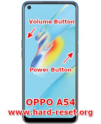 hard reset oppo a54