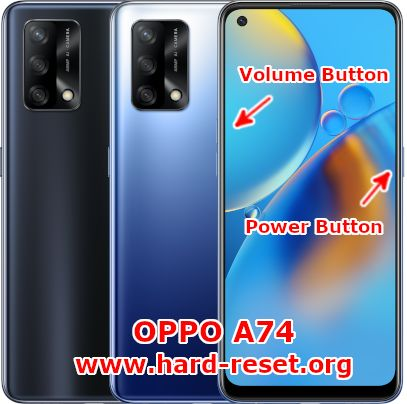 hard reset oppo a74