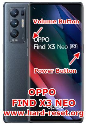 hard reset oppo find x3 neo