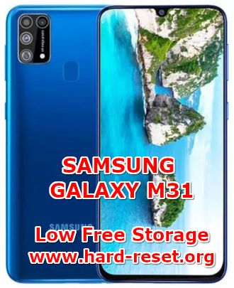 solution to fix insufficient memory on samsung galaxy m31