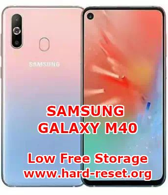 solutions to fix low free storage insufficient on samsung galaxy m40