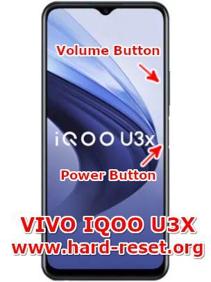 hard reset vivo IQOO u3x