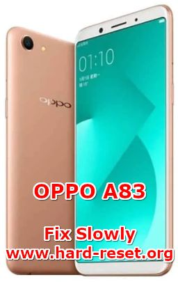 solution to fix lagging issues on oppo a83