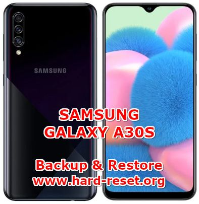 solution to backup & restore data on samsung galaxy a30s