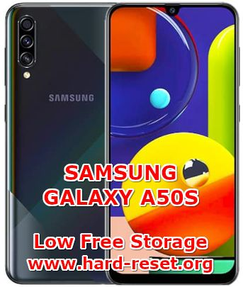 solution to fix low free storage on samsung galaxy a50s