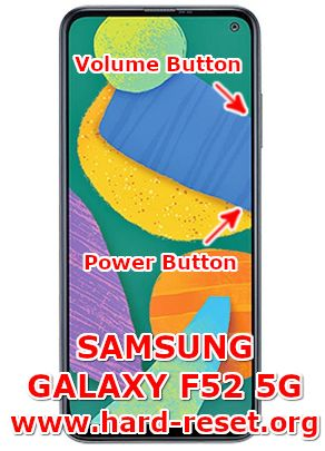 hard reset samsung galaxy f52 5G
