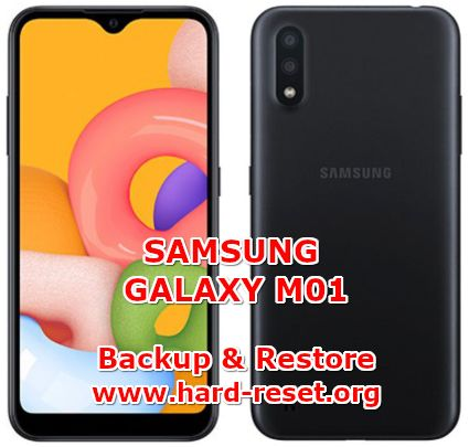 solution to backup & restore data on samsung galaxy m01
