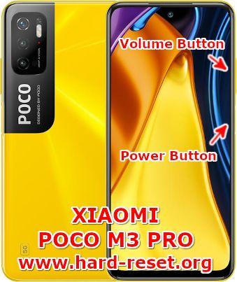 hard reset xiaomi poco m3 pro (5g)