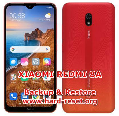 solution to backup & restore data on xiaomi redmi 8a