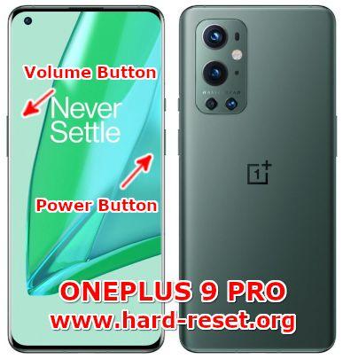 hard reset oneplus 9 pro