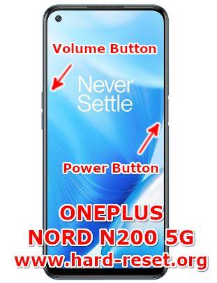 hard reset oneplus nord n200 5g