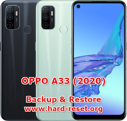 how to backup & restore data on oppo a33