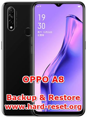 solution to backup & restore data on oppo a8