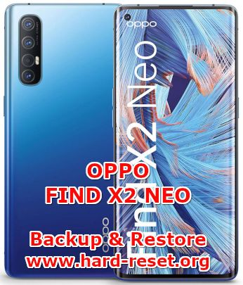 solution to backup & restore data on oppo find x2 neo