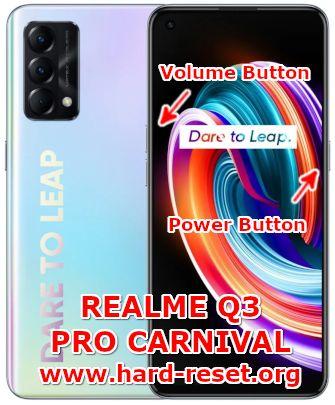 hard reset oppo realme q3 pro carnival edition