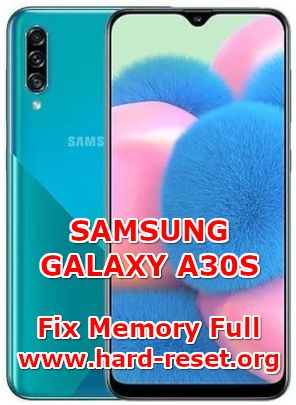 solution to fix insufficient memory full on samsung galaxy a30s