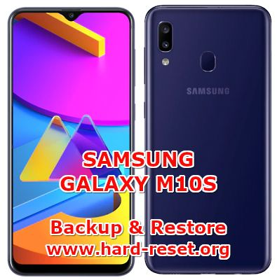 how to backup & restore data on samsung galaxy m10s