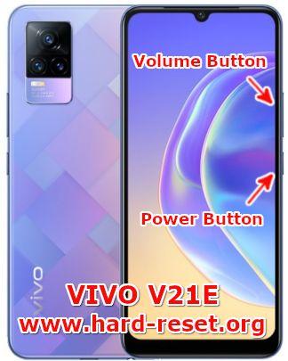 hard reset vivo v21e