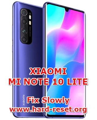 solution to fix lagging issues on xiaomi mi note10 lite