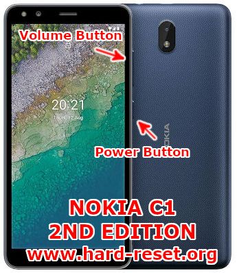 hard reset nokia c1 2nd edition 2021 android go