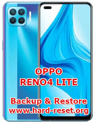 how to backup & restore data on oppo reno4 lite