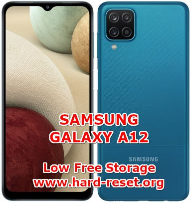 solution to fix insufficient memory full on samsung galaxy a12