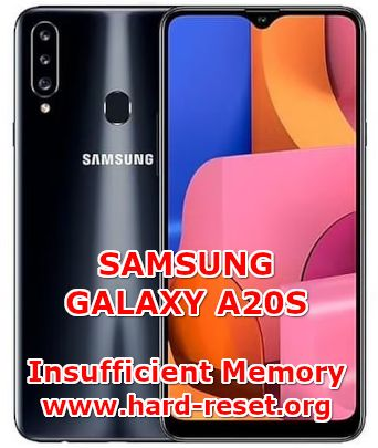 solution to fix insufficient memory issues on samsung galaxy a20s
