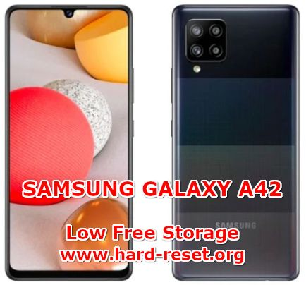solution to fix storage full on samsung galaxy a42