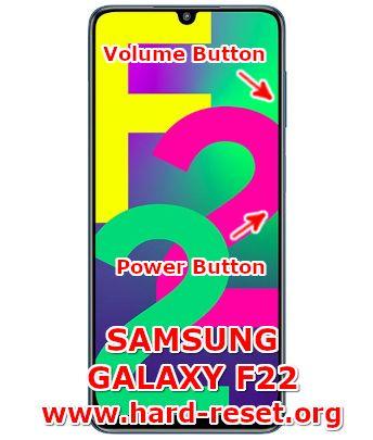hard reset samsung galaxy f22