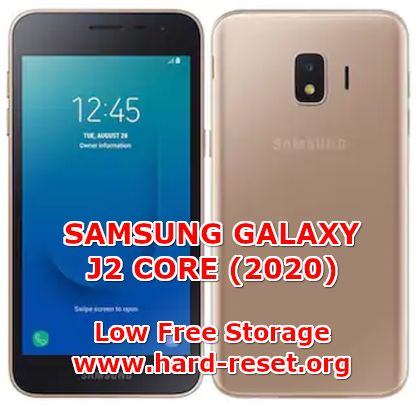 solutions to fix internal memory full on samsung galaxy j2 core 2020