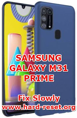 solution to fix lagging issues on samsung galaxy m31 prime