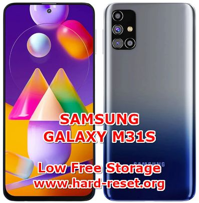 solution to fix low free storage issues on samsung galaxy m31s