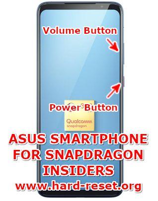 hard reset asus smartphone for snapdragon insiders