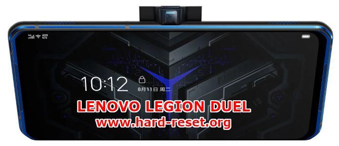 hard reset lenovo legion duel