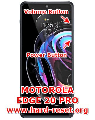 hard reset motorola edge 20 pro