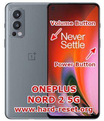 hard reset oneplus nord 2 5g