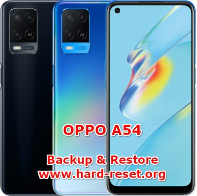 how to backup & restore data on oppo a54