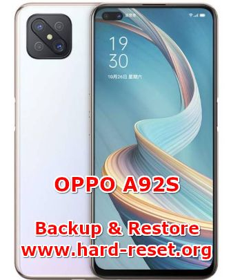 how to backup & restore data on oppo a92s