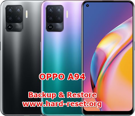 how to backup & restore data on oppo a94