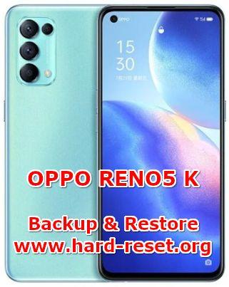 how to backup data on oppo reno 5k