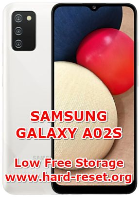 how to fix low free storage full issues on samsung galaxy a02s