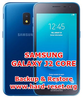 how to backup & restore data on samsung galaxy j2 core