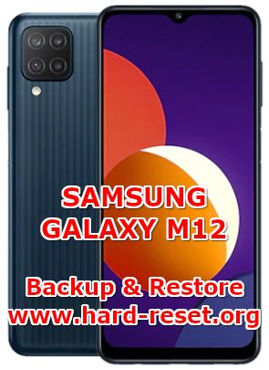 how to backup and restore data on samsung galaxy m12