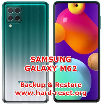 how to backup & restore data on samsung galaxy m62